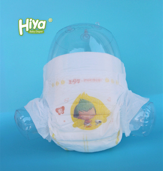 OEM nappies printed disposable baby diapers in bulk