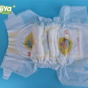 Soft care diaper breathable film high quality baby diaper
